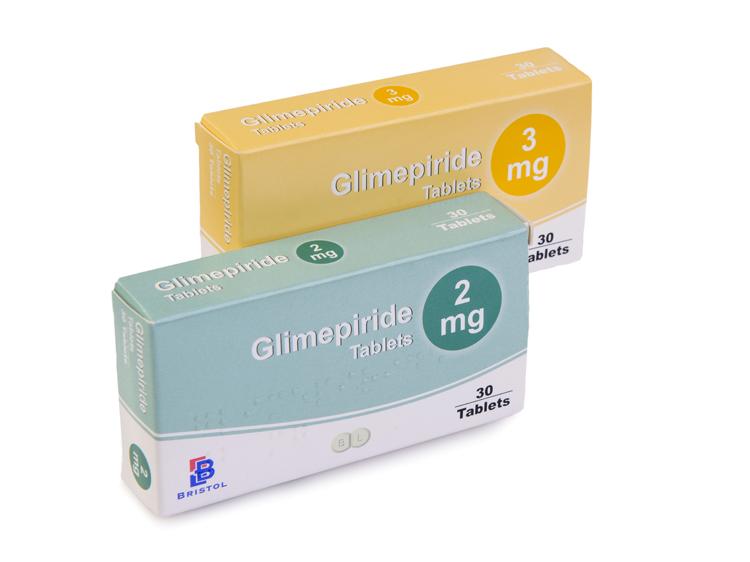 bristol laboratories | glimepiride, Skeleton